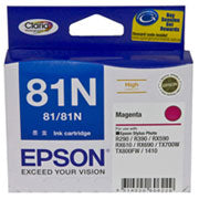 Epson T1113 (81N) Magenta Ink Cartridge (replaces T0813) - 805 pages - Out Of Ink