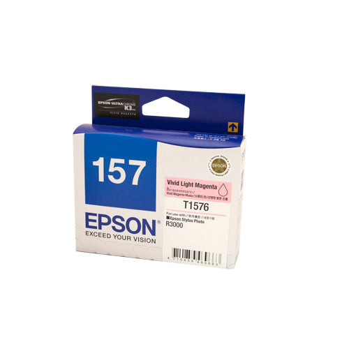 Epson T1576 Light Magenta Ink Cartridge - Out Of Ink