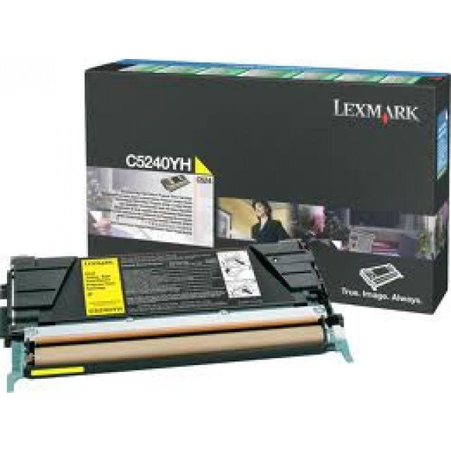 Lexmark C534DN Yellow Prebate Toner Cartridge High Capacity - 5,000 pages - Out Of Ink