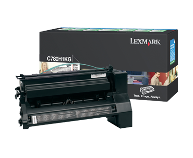 Lexmark C780H1KG HY Pre Blk Cart - Out Of Ink