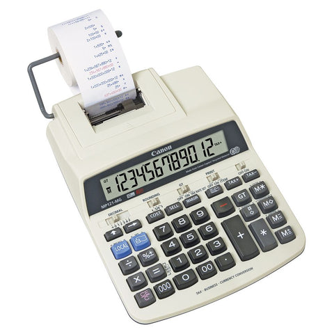 Canon MP121MG Calculator - Out Of Ink