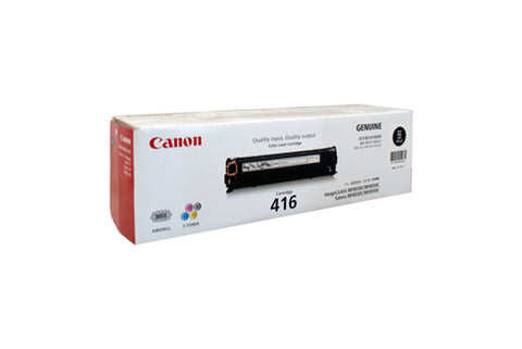 Canon CART416 Black Toner - 2,300 Pages - Out Of Ink