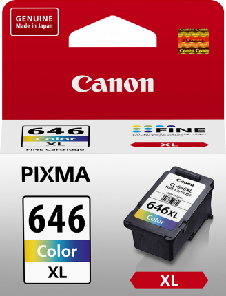 Canon CL646XL Colour Ink Cart - Out Of Ink
