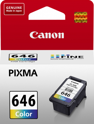 Canon CL646 Colour Ink Cart - Out Of Ink