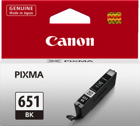 Canon CLI-651 Black Ink Cartridge - 1795 A4 pages - Out Of Ink