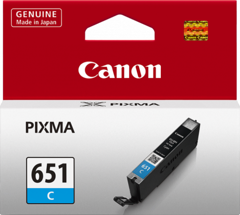 Canon CLI-651 Cyan Ink Cartridge - 332 A4 pages - Out Of Ink