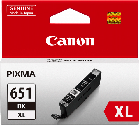 Canon CLI-651XL Black Ink Cartridge - 5530 A4 pages - Out Of Ink