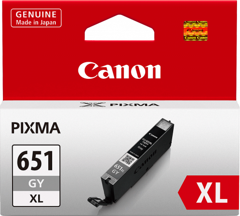 Canon CLI651XL Grey Ink Cartridge - 695 A4 pages - Out Of Ink