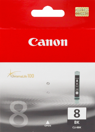 Canon CLI-8BK Photo Black Ink Tank - 65 pages - Out Of Ink