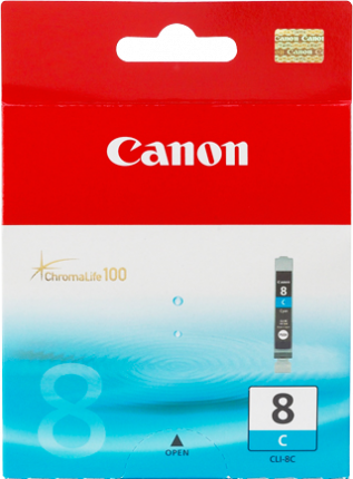 Canon CLI-8PC Photo Cyan Ink Tank - 32 pages - Out Of Ink