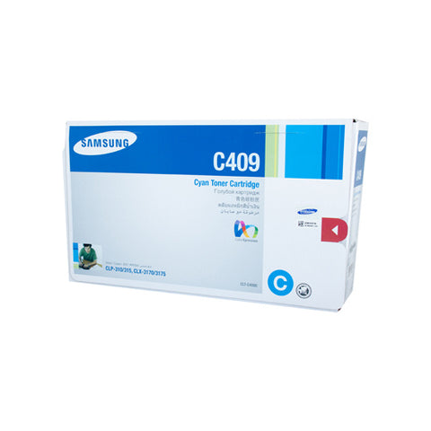 Samsung CLP-310 / CLP-315 / CLX-3170 / CLX-3175 Cyan Toner Cartridge - 1,000 pages @ 5%