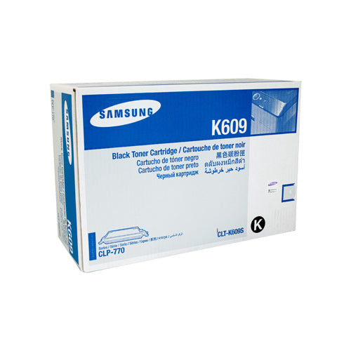Samsung CLT-K609S Black Toner Cartridge - 7,000 pages @ 5% - Out Of Ink