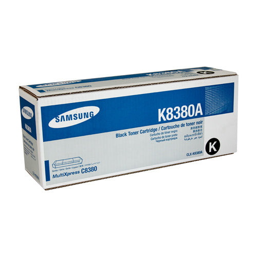 Samsung CLX-8380 Black Toner Cartridge - 20,000 pages @ 5% - Out Of Ink