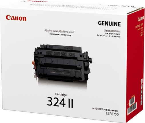 Canon CART324 Black HY Toner - Out Of Ink