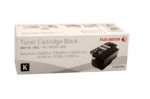 Xerox DocuPrint CT201591 Black Toner Cartridge - 2,000 pages - Out Of Ink