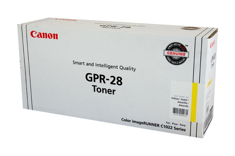 Canon (GPR-28) IRC-1021 Yellow Copier Toner - 6,000 pages - Out Of Ink