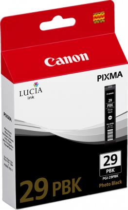 Canon PGI29 Photo Black Ink Tank - 111 pages - Out Of Ink