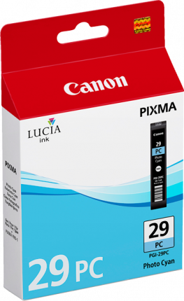 Canon PGI29 Photo Cyan Ink - 400 pages - Out Of Ink