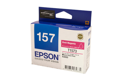 Epson T1573 Magenta Ink Cartridge - Out Of Ink