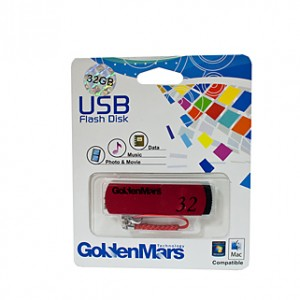 Golden Mars USB 2.0 Flash Disk - 32Gb - Out Of Ink