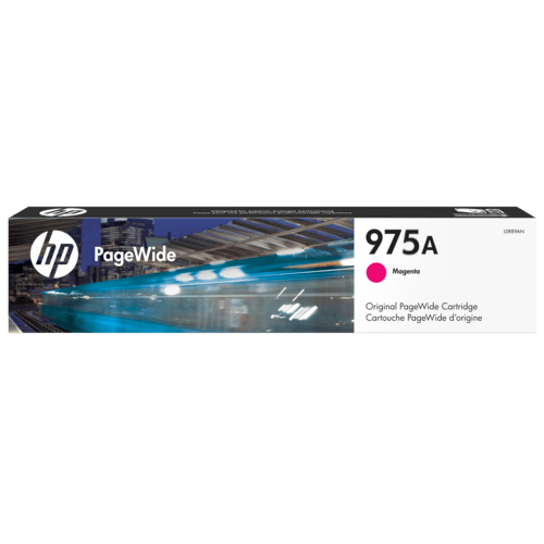 HP #975A Magenta Ink L0R91AA - Out Of Ink