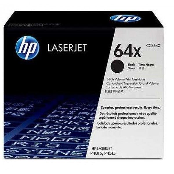 HP No.64X Toner Cartridge High Capacity - 24,000 pages - Out Of Ink
