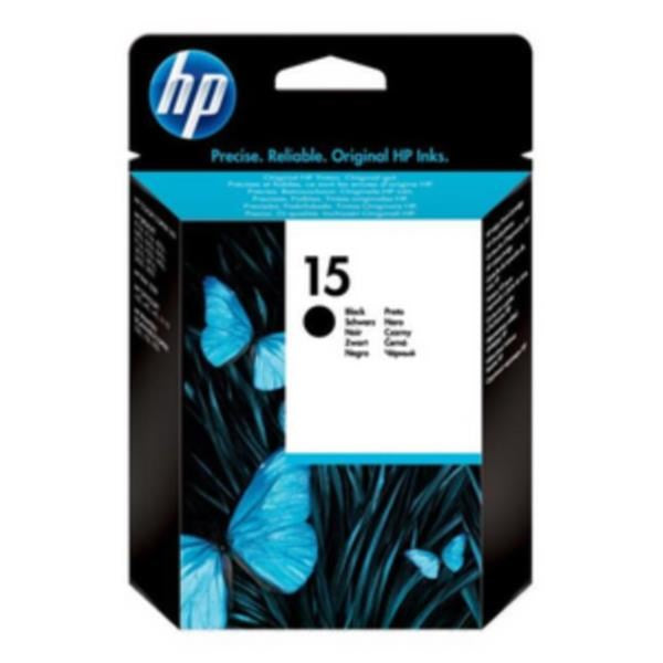 HP No.15 Black Ink Cartridge - 25ml - 495 pages - Out Of Ink