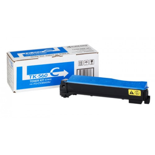 Kyocera FS-C5300DN Cyan Toner Cartridge - 10,000 pages - Out Of Ink