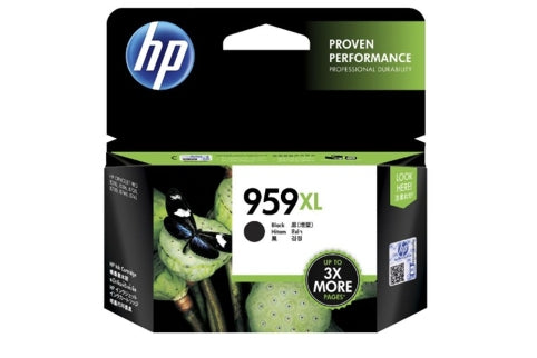 HP #959XL Black Ink L0R42AA - Out Of Ink