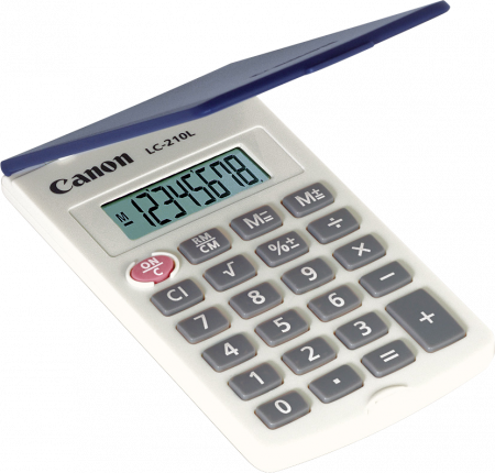 Canon LC210L Calculator - Out Of Ink