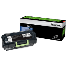 Lexmark 523 Black Toner - 6,000 pages - Out Of Ink