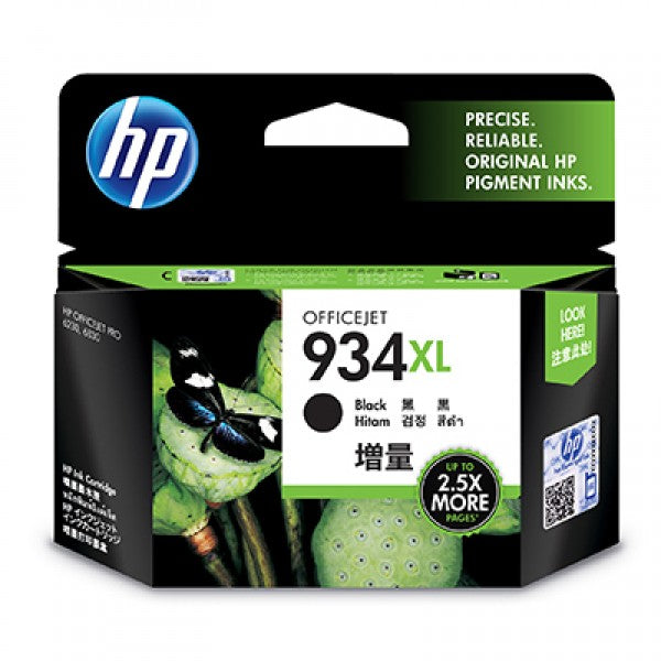HP #934 Black XL Ink C2P23AA - Out Of Ink