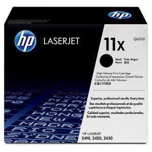 HP No.11X Toner Cartridge - 12,000 pages - Out Of Ink