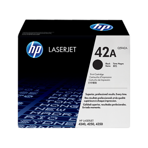 HP No.42A Toner Cartridge - 10,000 pages - Out Of Ink