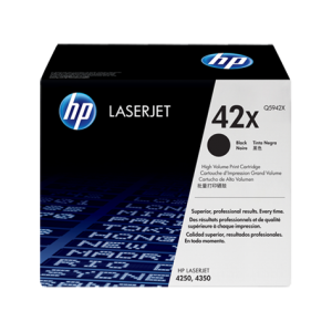 HP No.42X Toner Cartridge - 20,000 pages - Out Of Ink