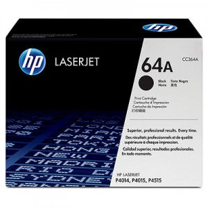 HP No.64A Toner Cartridge - 10,000 pages - Out Of Ink