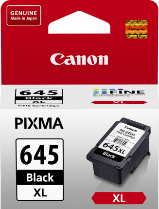 Canon PG645XL Black Ink Cart - Out Of Ink