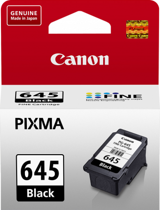 Canon PG645 Black Ink Cart - Out Of Ink