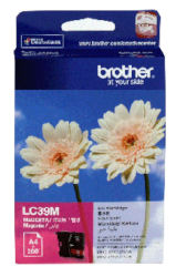 Brother LC-39M Magenta Ink Cartridge (260 pages) - Out Of Ink