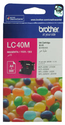 Brother LC-40M Magenta Ink Cartridge (300 pages) - Out Of Ink