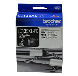Brother LC139 H/Yield Ink Cart - Out Of Ink