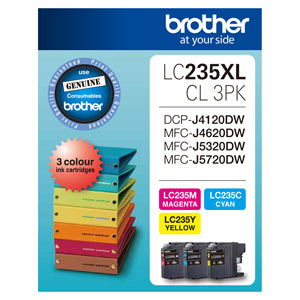 Brother LC235XL CMY Clr Pack - Out Of Ink