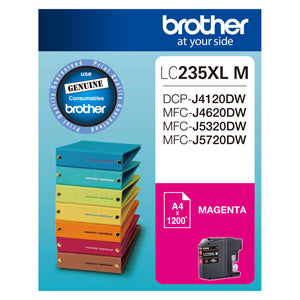 Brother LC235XL Magenta Ink - Out Of Ink