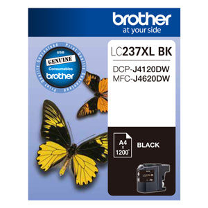 Brother LC237XL Blk Ink Cart - Out Of Ink