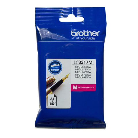 Brother LC3317 Magenta Ink - Out Of Ink