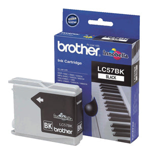 Brother LC-57BK Black Ink Cartridge  (500 pages) - Out Of Ink