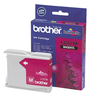 Brother LC-57M Magenta Ink Cartridge - up to 400 pages - Out Of Ink