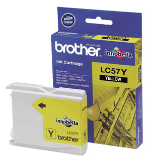 Brother LC-57Y Yellow Ink Cartridge - up to 400 pages - Out Of Ink
