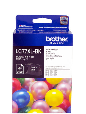 Brother LC77XL Black Ink Cartridge - 2,400 pages - Out Of Ink