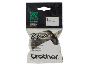 Brother MK221 Black/White 9mm - Out Of Ink
